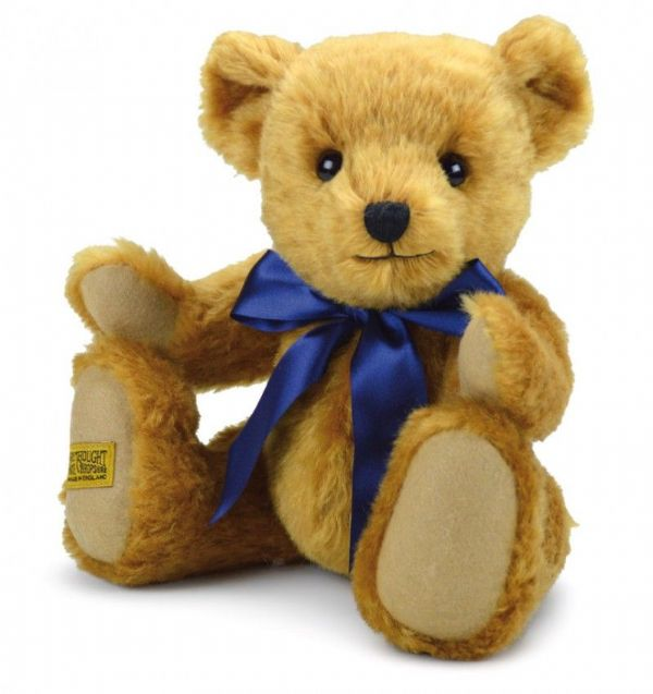 "Traditional Jointed Merrythought Teddybear "" Oxford"" 13"". OX13YG. Free UK postage."